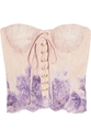 Rosamosario Pitture D 27Arte hand painted lace corset 60 25 Off Now at THE OUTNET