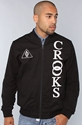Crooks and Castles The Delta Stadium Jacket in Black 3a Karmaloop com Global Concrete Culture