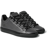 Balenciaga Arena Textured Leather Sneakers Mr Porter