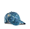 Acne Camp Print Blue Marble Shop Ready To Wear Accessories Shoes And Denim For Men And Women