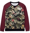 Ami Multicolor Print Ami Tropical Logo Sweater Hypebeast Store