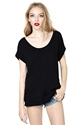 Nasty Gal New Boyfriend Tee Black Shop Tops At Nasty Gal