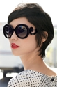 Prada 'Baroque' Round Sunglasses On Lolobu