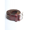 Anderson's Ethnic Woven Belt Brown Green A Too Limited
