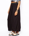 Monki Monki Wrap Maxi Skirt At Asos