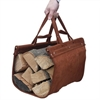 Amazon.Com Woodeze 5Wz 1880 Premium Leather Log Carrier Brown Home Kitchen