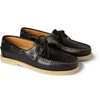 A P C c2 a0Leather Boat Shoes c2 a0 7c c2 a0MR PORTER