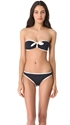 Marc by Marc Jacobs Woodward Solids Bandeau Bikini Top 7c SHOPBOP