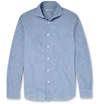 Boglioli Cutaway Collar Cotton Chambray Shirt Mr Porter
