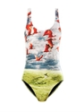 Migration Print Swimsuit We Are Handsome Matchesfashion.Com