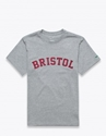 F.C.Real Bristol Graphic T Shirt Text Grey Tres Bien