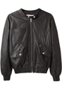 c3 89toile Isabel Marant 2f Calista Leather Jacket 7c La Gar c3 a7onne