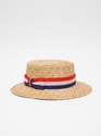 Boater Hat Red White Blue