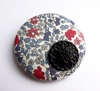 Button Brooch Folksy