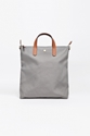Mismo Shopper Nylon Ocean Grey Cuoio Tres Bien Shop