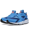 Nike Air Huarache Gym Blue Bright Mango