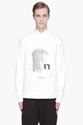 Givenchy White Bullseye Madonna Print Sweatshirt for men 7c SSENSE