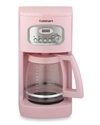 Cuisinart 12 Cup Programmable Coffee Maker With Glass Carafe Pink