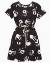 Hand Print Dress You Must Create Ymc