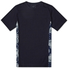 Sophnet. Indigo Side Panel Tee Bandana