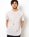 Paul Smith Jeans 7c Paul Smith Jeans T Shirt with Planets Print at ASOS
