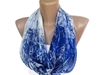 Infinity Loop Women Chiffon Scarf Fashion By Senoaccessory