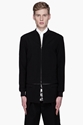3.1 Phillip Lim Black Layered Athletic Jacket For Men Ssense