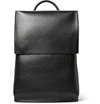 Balenciaga Semi Structured Leather Backpack Mr Porter