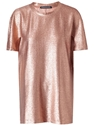Ostwald Helgason Lurex Woven Tunic Top Browns Farfetch.Com