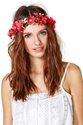 Festival Blooms Floral Crown At Nasty Gal