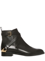 Fratelli Rossetti 20Mm Belted Calf Leather Ankle Boots Luisaviaroma Luxury Shopping Worldwide Shipping Florence