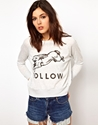 The Orphan 27s Arms 7c The Orphan 27s Arms Follow Raglan Jumper at ASOS