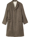 Men's Harris Tweed Overcoat In Tweed