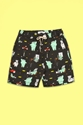 BABAR MEETS SOULLAND OLD LADY AFRIQUE SHORTS MEN BABAR MEETS SOULLAND OPENING CEREMONY