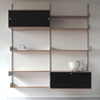 Vitsoe Furniture Shelving Original Production 606 Universal Shelving System Beech