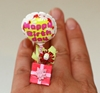 Kawaii Cute Miniature Food Ring Happy by fingerfooddelight
