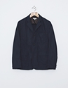 Engineered Garments Baker Weather Poplin Jacket Navy Nitty Gritty Store