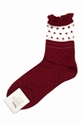 TABIO FLOCKED DOT SOCKS WOMEN TABIO OPENING CEREMONY