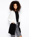 Glamorous Glamorous Colour Block Longline Blazer At Asos