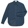 Paul Smith Men's Shirts Jacquard Check Denim Shirt