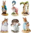Amazon.Com Beatrix Potter Miniature Figurine Collection Starter Set Of 6