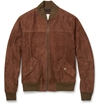 Product Billy Reid Suede Bomber Jacket 394444 Mr Porter