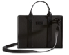 BLACK LEATHER 3a HARDSHELL BRIEFCASE VIEW ALL