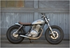1980 SUZUKI GN400 7c BY HOLIDAY CUSTOMS