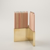 Colored Pencils With Brass Holder Set Pens Pencils Office