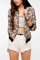One 26 Only x Urban Renewal Printed Bomber Jacket Urban Outfitters