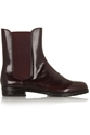Laine Glossed Leather Chelsea Boots Dkny 50 Off The Outnet