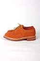 SUKAUTO TRICKER 27S FOR SUKAUTO LADIES COPPER SUEDE DERBY BROGUE