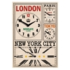 Buy Newgate World Travellers Clock online at JohnLewis com John Lewis