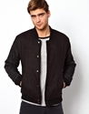 Native Youth Native Youth Varisty Bomber With Contrast Sleeves At Asos